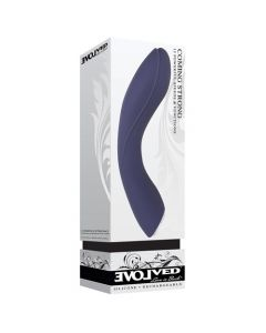 Coming Strong 12 Function Power Boost Silicone Vibrator - Blue