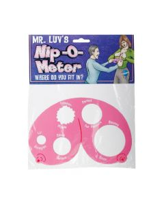 Mr. Luv's Nip-O-Meter - Pink