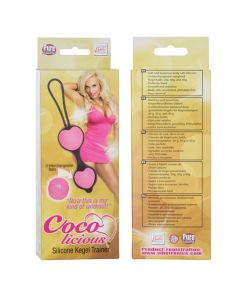 Coco Licious Kegel Balls - Pink Balls