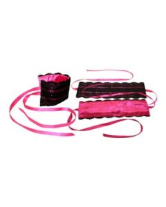 Satin & Lace Lover's Kit - Pink