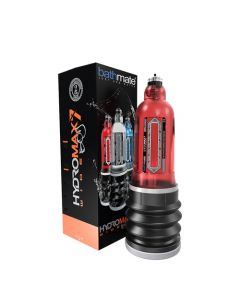 BathMate Hydromax 7 Wide Boy Pump Red