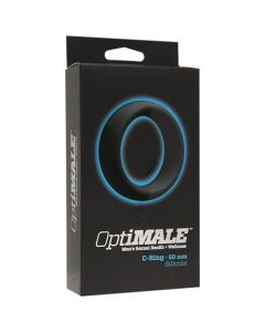 Optimale Thick Silicone C-Ring - 50MM - Black