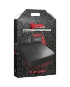 Kink - Fitted King Wet Works Waterproof Sheet - Black