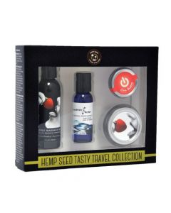 Hemp Seed Tasty Travel Set - Strawberry Kit