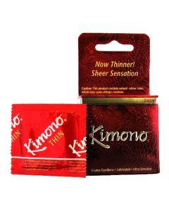 Kimono Micro Thin Condom - 3 pk