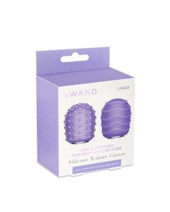 Droplet and Spiral Petite Wand Texture Covers - Purple