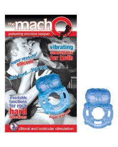 THE MACHO PULSATING ERECTION KEEPER - BLUE - NassWalk
