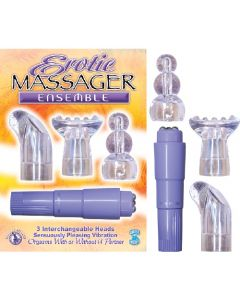 Erotic Massager Ensemble - Lavender