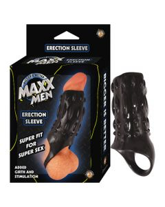 MAXX MEN Erection Sleeve - Black