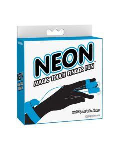 Neon Magic Touch Finger Fun - Blue