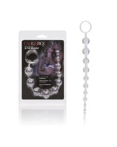 Extreme Pure Gold - X-10 Beads Anal Beads - Platinum