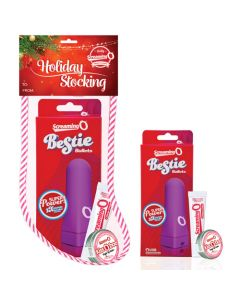 Holiday Stockings Stuffer includes Bestie Vibe, kissOboo, Stimuation Balm