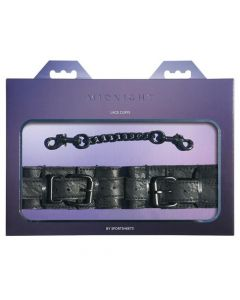 Midnight Lace Cuffs - Black