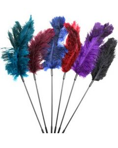 Ostrich Feather Ticklers - 6 piece combo