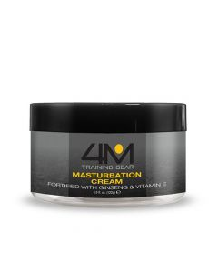 4M Endurance Masturbation Cream with Ginseng - 4.5 fl oz Water-Based Cream