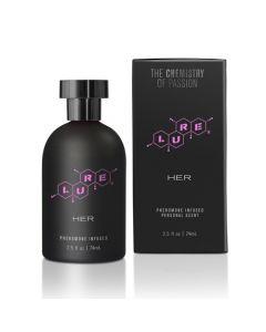 Lure Black Label - For Her 2.5 fl. oz. Pheromone Perfume