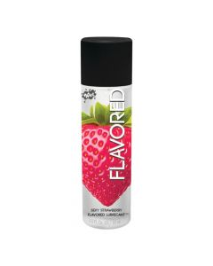Wet Flavoured Water Based Lubricant - 3oz - Sexy Strawberry