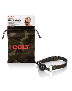 COLT Camo Restraint Silicone Ball Gag