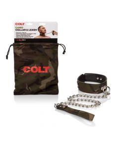 COLT Camo Restraint Collar & Leash