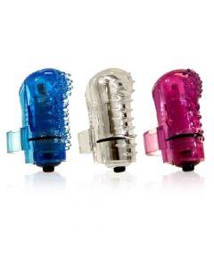 The Screaming O - The Fing O Vibrating Finger Stimulator - Tingly - Blue