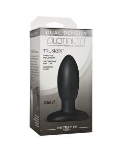 Platinum TRUSKYN The Tru Plug - Smooth - Black