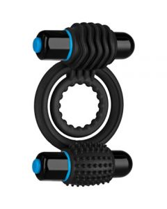 Optimale Vibrating Double C-Ring - Black