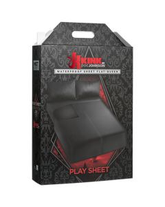 Kink - Flat Queen Wet Works Waterproof Sheet - Black