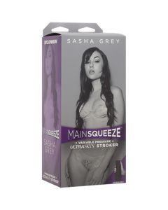 Main Squeeze - Sasha Grey UltraSkyn Pussy - Ivory