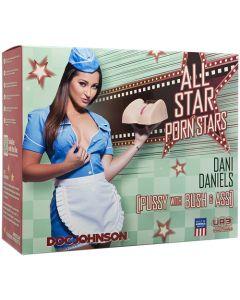 All Star Porn Star - Dani Daniels Pussy with Bush and Ass - Vanilla