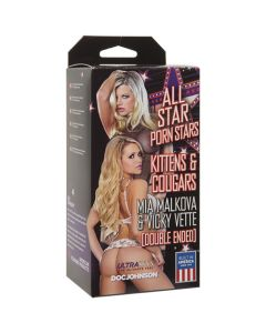 All Star Porn Stars - Kittens and Cougars: Double-Ended Mia Malkova and Vicky Vette - Ivory