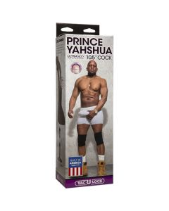 """Prince Yahshua 10.5"""" Ultraskyn Cock with Vac-U-Lock Plug"""