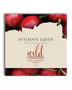 Wild Cherries Oral Pleasure Glide Flavoured Lubricant 3ml Foil