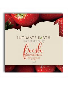 Fresh Strawberries Oral Pleasure Glide Flavoured Lubricant 3ml Foil