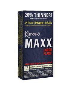 Kimono Maxx Condoms - 12 pk - Kimono Condoms