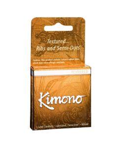 Kimono Condoms Textured - 3 pk - Kimono Condoms
