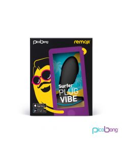 REMOJI: Surfer Plug Vibe - Black