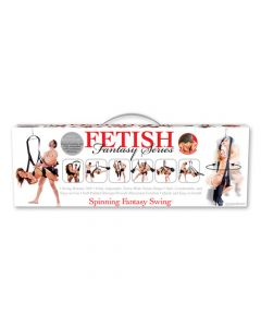 Fetish Fantasy Spinning Sex Swing - Black