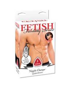 Fetish Fantasy Series - Shock Therapy Nipple Clamps