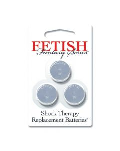 Fetish Fantasy Series - Shock Therapy Replacement Batteries (3 pack)