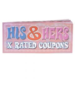 His & Hers X-Rated Coupons (singles)