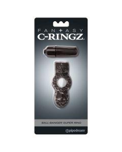 Fantasy C-Ringz Ball-Banger Super Ring - Black