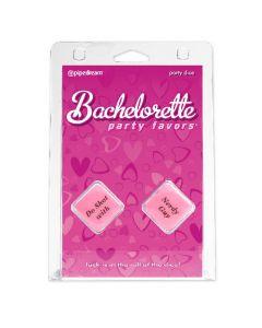 Bachelorette Party Favors - Party Dice - Pink