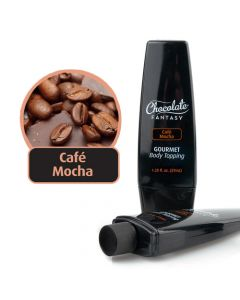 Chocolate Fantasy Gourmet Body Toppings - 1.25 OZ Cafe Mocha