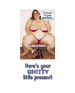 Shitty Present - Birthday Card