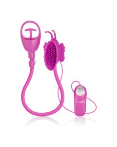Advanced Butterfly Clitoral Pump - Pink