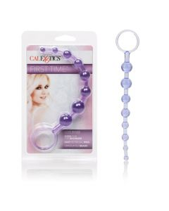 First Time Collection - Anal Love Beads - Purple
