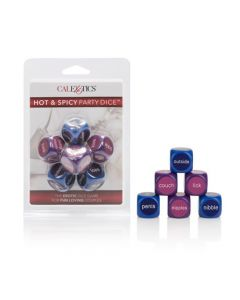 Hot & Spicey Party Dice - 6 pack dice