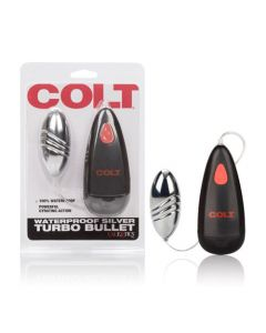 COLT Waterproof Turbo Bullet - Silver
