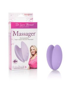 Dr. Laura Berman - Palm-Sized Silicone Massager - Purple