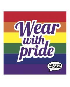 Wear with Pride - Funny Condom